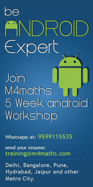 android training in delhi, android training in banglore